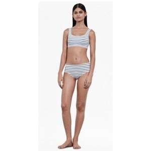 Nwt French Connection striped bikini set two piece